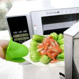 Perfectionner pour le BBQ d'utilisation grillant le gant anti-calorique de four de silicones