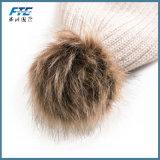 Os Scarves mornos da garganta dobro nova do inverno do lenço da esfera fizeram malha o lenço