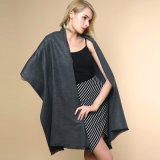 Женщин моды Обычный цветной 100% полиакрил трикотажные зимой шаль (YKY4517)
