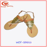 High Wedge Sandals Fashion Flip Flops pour dames