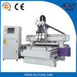 Acut-1325 3D hölzerne schnitzende Maschine mit dem drei Spindle/CNC Fräser für Holz