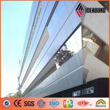 Panneau composé moderne d'acier inoxydable d'Ideabond pour le revêtement de mur