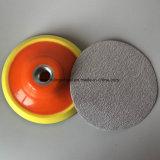 Strumenti abrasivi che lucidano i dischi di smeriglitatura del Velcro per 6 pollici