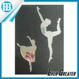 Etiqueta de decoração de espelho de acrílico barata personalizada