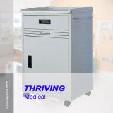 ABSプラスチック病院用ベッドの側面のキャビネット(THR-CB460)