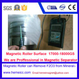 Separador magnético seco da intensidade elevada para a maquinaria de mineral do minério