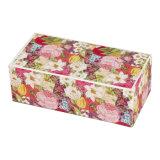 Vakje van het Document van de Gift van de Thee van de Bloem van de douane het Verpakkende