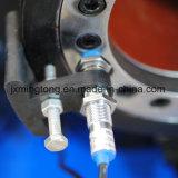 Raccords de flexible hydraulique du tracteur et appuyez sur la touche de sertissage