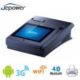 10 pulgadas todas en una terminal de la posición WiFi con el programa de lectura de NFC y la impresora del recibo