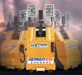 Mochila multifunción portátil/estación de tren o el tráfico de Construcción y Minería de la torre de luz LED
