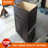 オンラインでクルミの木製のベニヤ販売の台所家具のために