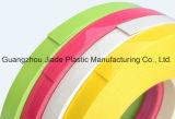 Garniture en plastique de bord de PVC de moulage de la bordure foncée T de bureau de PVC