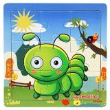 Hölzerne Tier-fantastische Ausbildung und Lernen von Intelligenz-Spielwaren-Puzzlen
