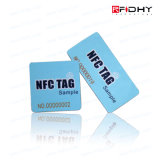 Em4423 NFC et UHF 25mm Circle Roll of Ntag213 Stickers
