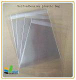 Bolsa Transparente OPP. Saco de plástico selado auto-adesivo