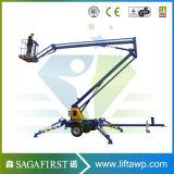 piattaforma idraulica mobile leggera dell'elevatore del cestino del ragno di 16m