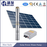 Grande sistema de bombeamento de água solares de energia para irrigação (SP)