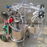 真空ポンプ牛搾り出す機械ガソリンモーター搾乳器の倍のバケツ