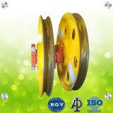 Cabo de aço forjado do anel de cabeça do transportador da Roldana de elevação com a norma ISO9001