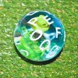La bola colorida de la despedida del PVC del nuevo diseño crea la alta bola de la despedida para requisitos particulares del cuadro de goma