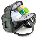 Le design de mode bébé fonctionnelle Les sacs à couches sac à dos avec coussinet de remplacement