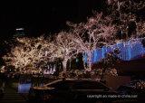 LED Natal Decoração da luz da árvore de coco