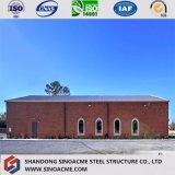 Weltgrad-Cer-Bescheinigung-vorfabriziertes strukturelles Kirche-Stahlgebäude