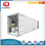 燃料タンクの容器によってスキッド取付けられる移動式燃料ガスの給油所