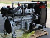 6-cilinders de Dieselmotor van de Generator met de Radiator van de Geluiddemper