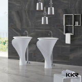 Meubles de salle de bains Kingkonree acrylique Mat Surface solide bassin autostable (180117)