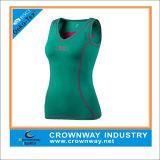 Het Mouwloos onderhemd van de Gymnastiek van de in het groot Vrouwen van de Douane/het Mouwloos onderhemd van de Geschiktheid