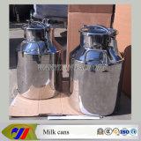Balde de leite de aço inoxidável de 25 l