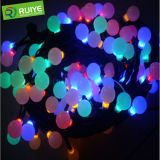 LED RGB Xmas Light Hotel Decorationled Bola Luz de String