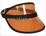 Cappello di plastica di Sun personalizzato colore di promozione con Thp-001