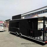 Carrinho de grelhar alimentos comerciais móveis Caminhões Reboque Alimentar Móvel