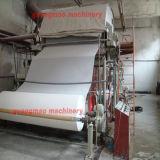 línea de la maquinaria de la producción del papel higiénico del tejido de 1760m m pequeña