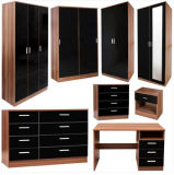 New Design MDF Wardrobe with Desak