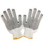 Строка из хлопка трикотажные ПВХ 1 Стороны пунктирной перчатки