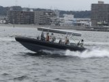 O Parque Aquático Aqualand 30pés 9m barco patrulha militar costela/barco/barco de passageiros (Costela900)