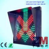 Driveway Lane Indicator Light / Croix-Rouge Green Arrow for Toll Station