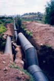 Tubo del PE del abastecimiento de agua Dn20-Dn1200