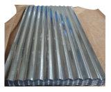 Оцинкованный гофрированное железо металлического листа крыши