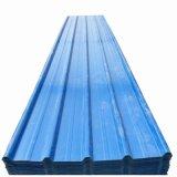 강철판을 지붕을 다는 입히는 골함석을 착색하십시오
