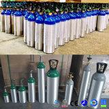 Cilindro oxígeno-gas del mini cilindro de aluminio portable del aire pequeño