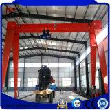 Utilisation ferroviaire de grue de portique de double poutre modèle de magnésium pour l'atelier