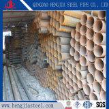 Tubo de acero de carbón de S235jo Ss400 ERW para la construcción