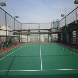 Borracha Sintética Itf High Quality Tennis Court Flooring