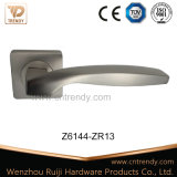 Ручка рукоятки двери ручки треугольника никеля сатинировки циновки (Z6103-ZR13)