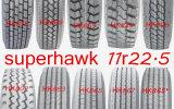 11r22.5 nagelneuer Superhawk halb LKW-Gummireifen mit einer 2 Jahr-Garantie