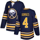 Buffalo Sabres Taylor Fedun Justin Falk Cody Goloubef Hockey camisolas